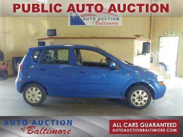 Chevrolet Aveo 2004 $1300.00 incacar.com