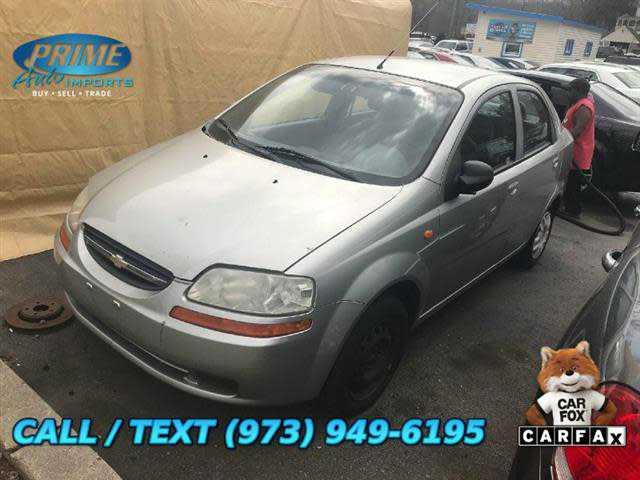 Chevrolet Aveo 2004 $399.00 incacar.com