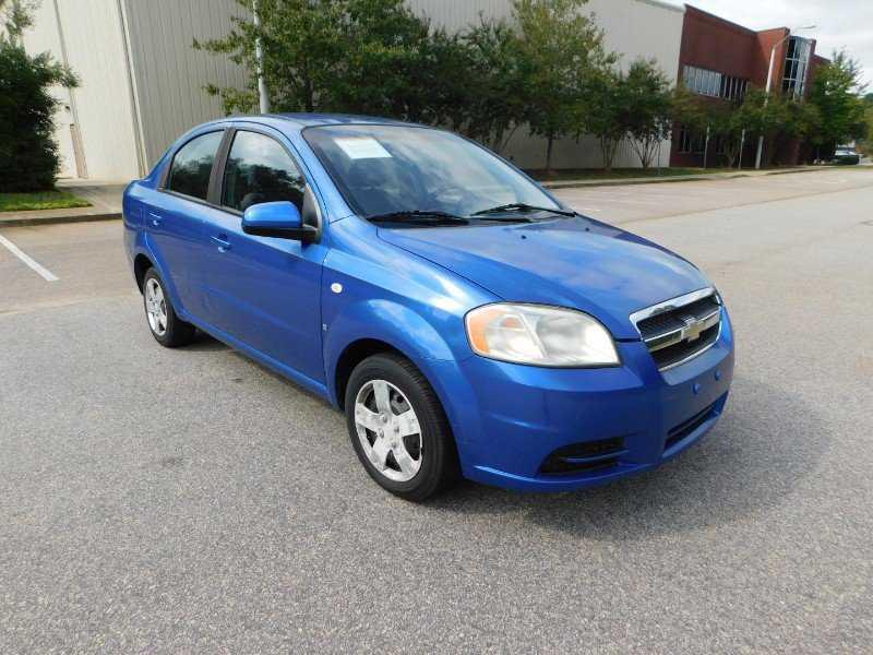 used Chevrolet Aveo 2007 vin: KL1TD56647B071914