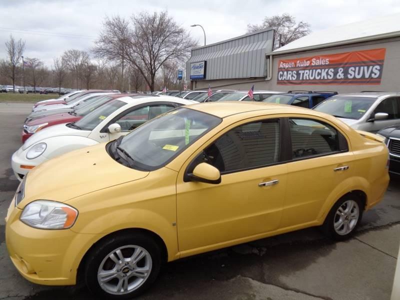 Chevrolet Aveo 2009 $3395.00 incacar.com