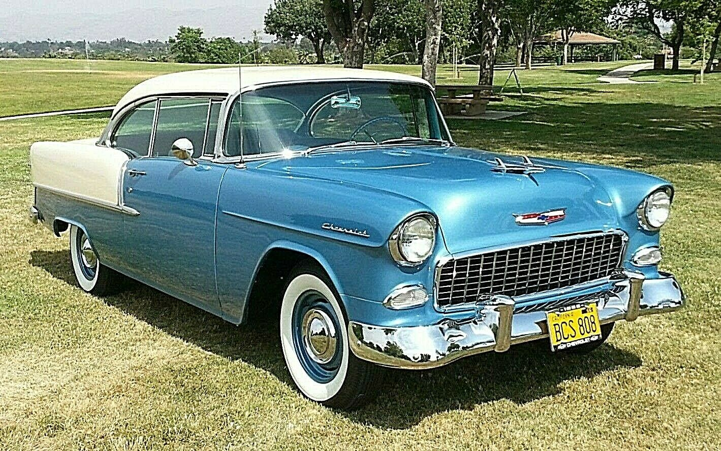 Chevrolet Bel Air/150/210 1955 $45000.00 incacar.com