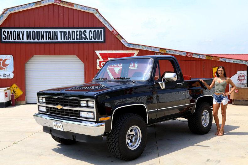 Chevrolet Blazer 1989 $19400.00 incacar.com