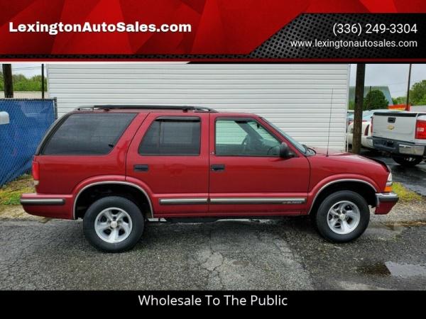Chevrolet Blazer 1998 $3250.00 incacar.com