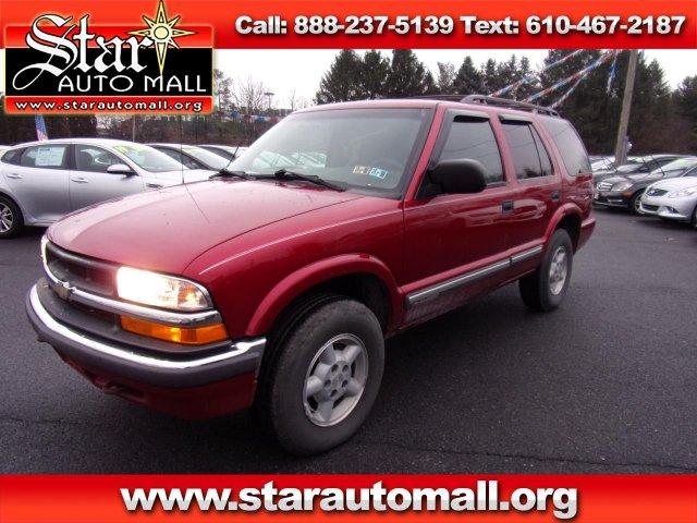 Chevrolet Blazer 2001 $2899.00 incacar.com