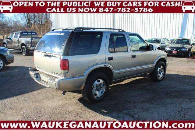 Chevrolet Blazer 2002 $750.00 incacar.com