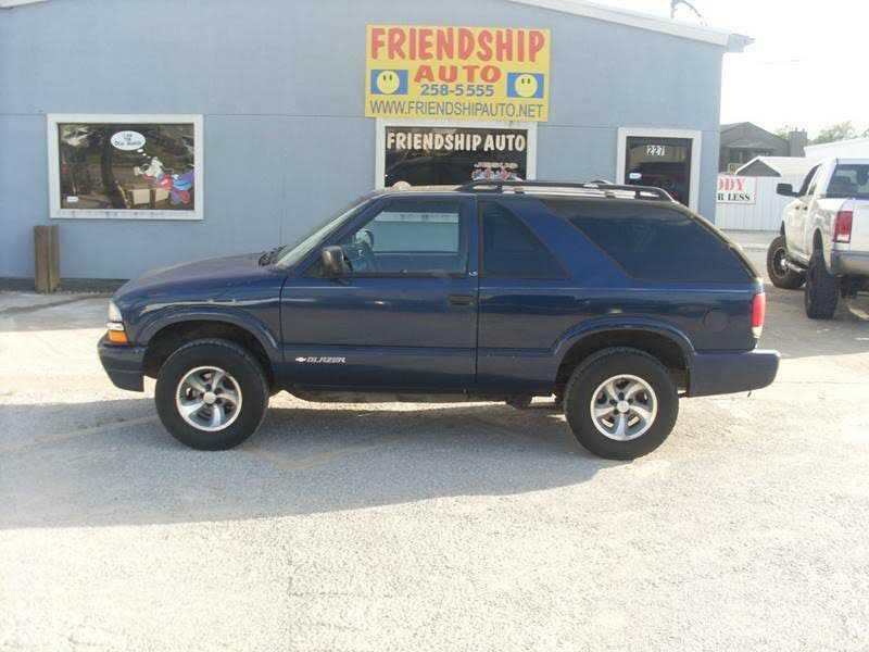 Chevrolet Blazer 2003 $1795.00 incacar.com