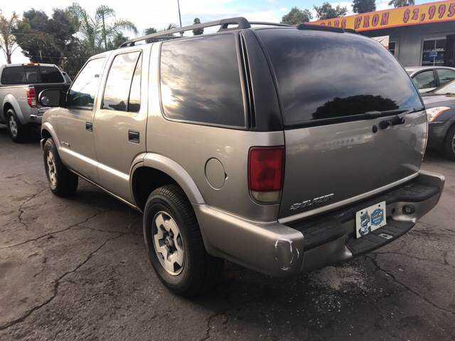 Chevrolet Blazer 2004 $4995.00 incacar.com