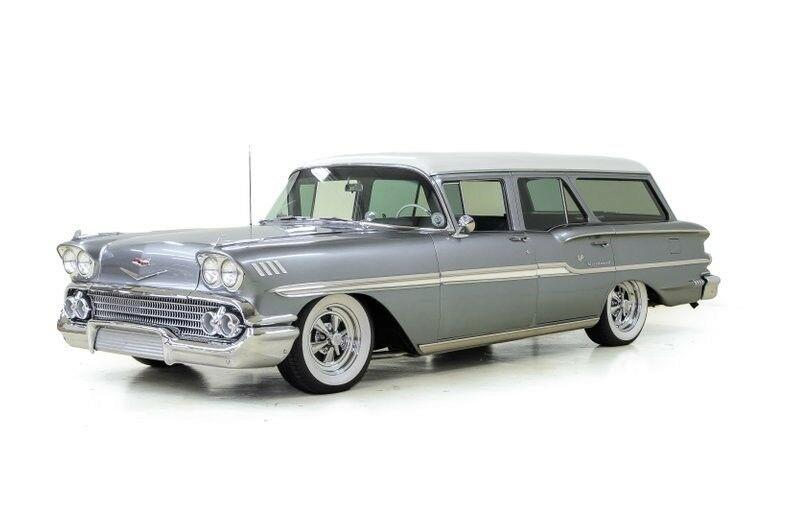 Chevrolet Brookwood Station Wagon 1958 $41995.00 incacar.com