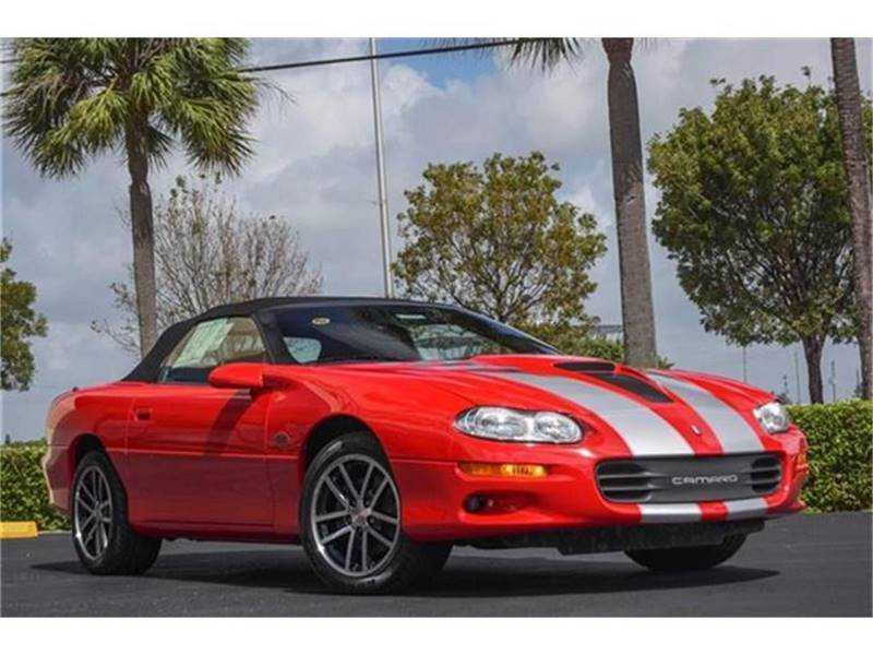 Chevrolet Camaro 2002 $41900.00 incacar.com