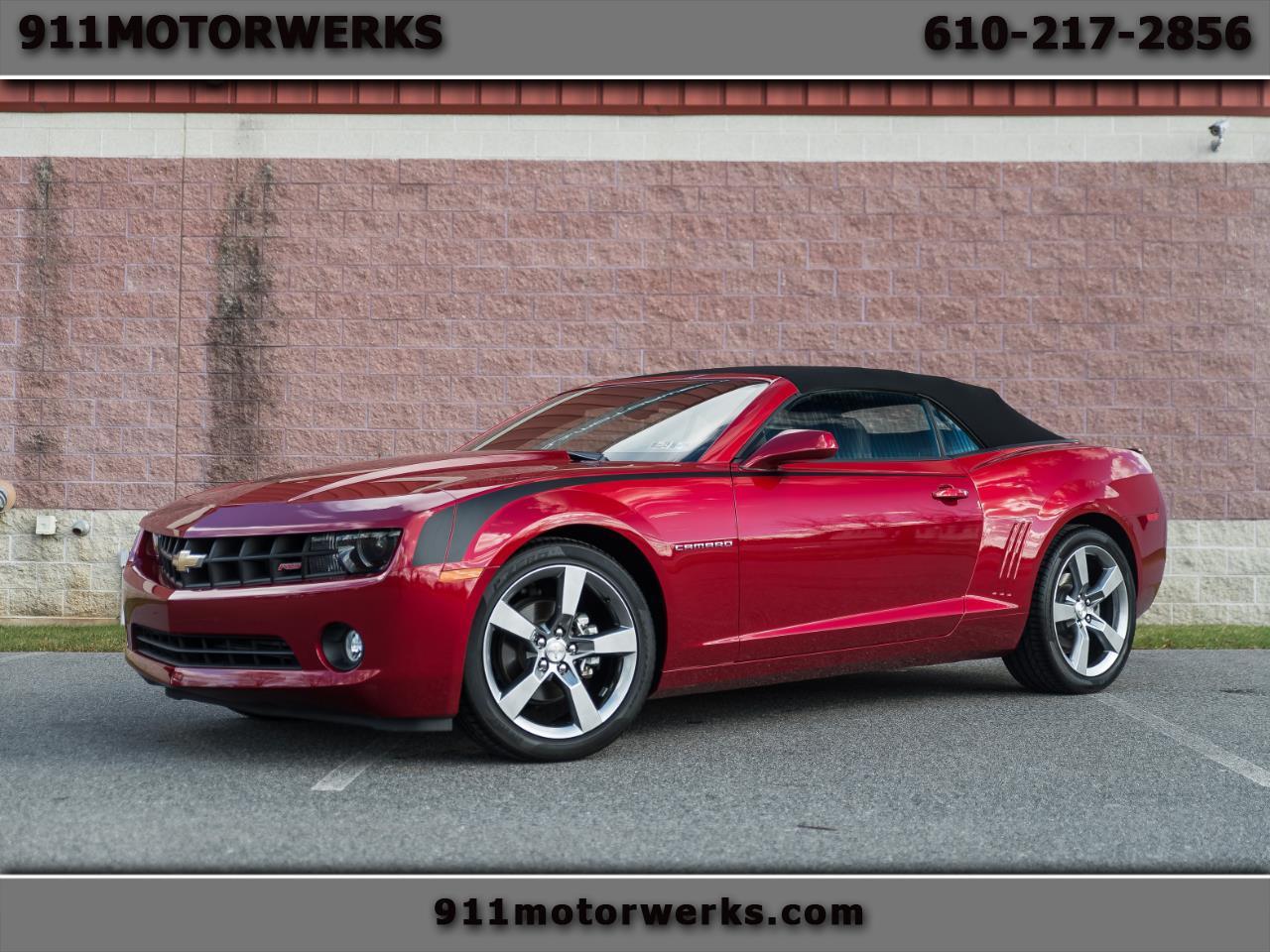 Chevrolet Camaro 2012 $22911.00 incacar.com