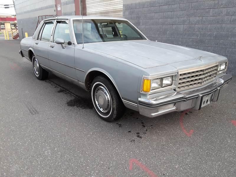 Chevrolet Caprice 1985 $3400.00 incacar.com