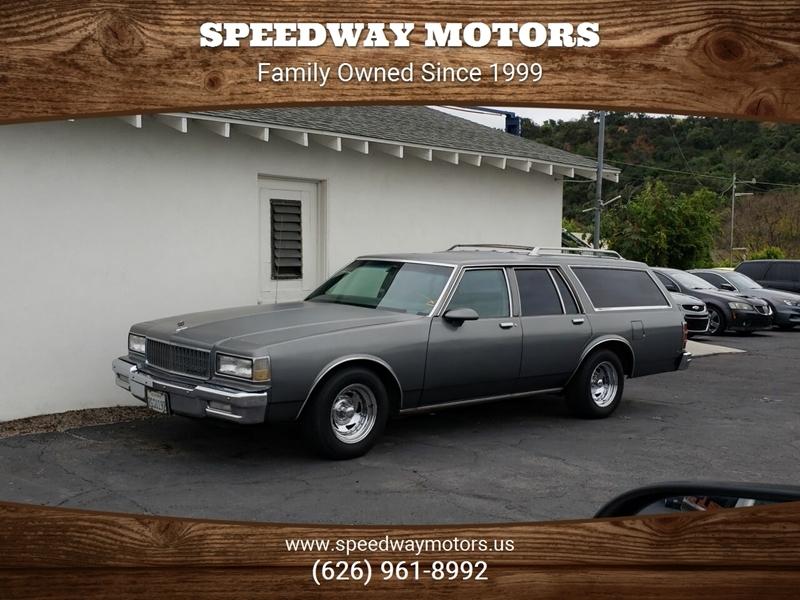 Chevrolet Caprice 1987 $3995.00 incacar.com