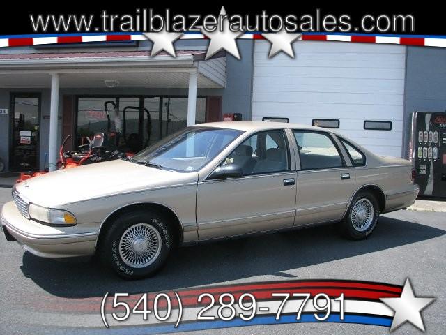 Chevrolet Caprice 1996 $7500.00 incacar.com