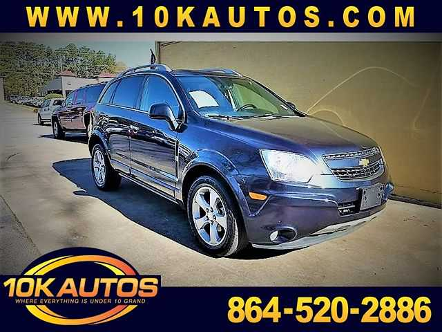 Chevrolet Captiva 2014 $8931.00 incacar.com
