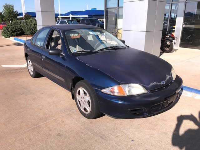 Chevrolet Cavalier 2001 $1299.00 incacar.com