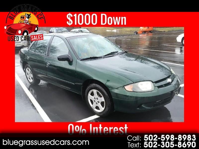 Chevrolet Cavalier 2004 $3295.00 incacar.com