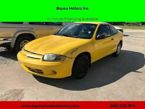 Chevrolet Cavalier 2005 $1500.00 incacar.com