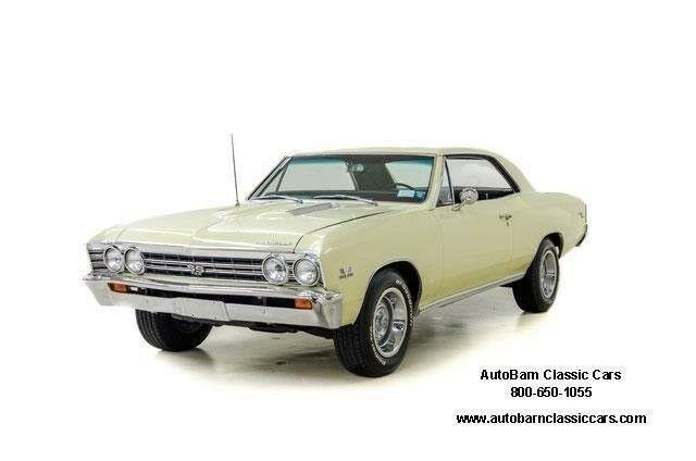 Chevrolet Chevelle 1967 $54995.00 incacar.com