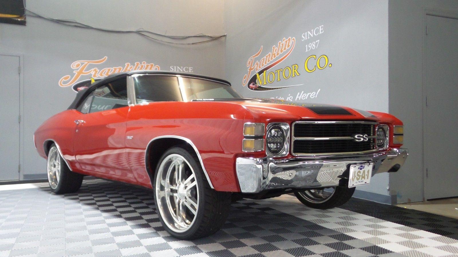Chevrolet Chevelle 1971 $43995.00 incacar.com