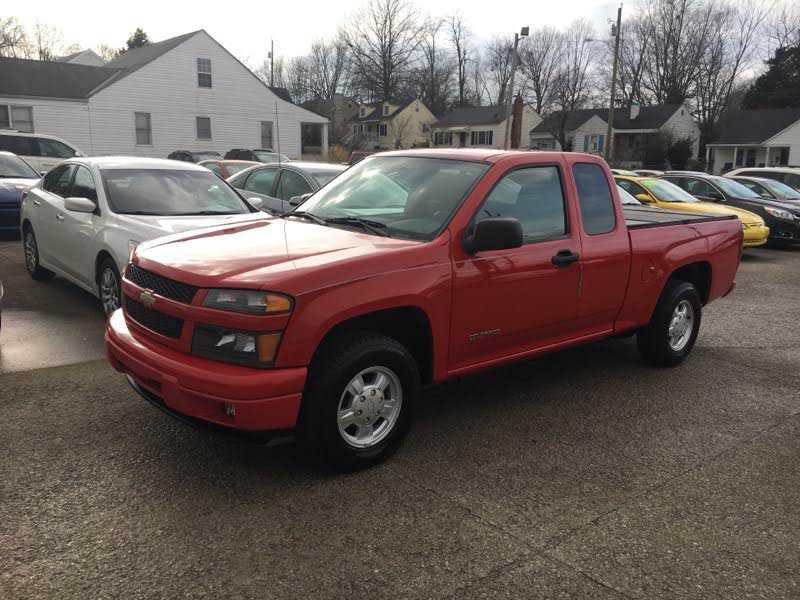 Chevrolet Colorado 2005 $8450.00 incacar.com