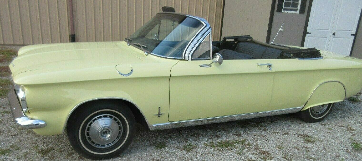 used Chevrolet Corvair 1964 vin: 40967W216064