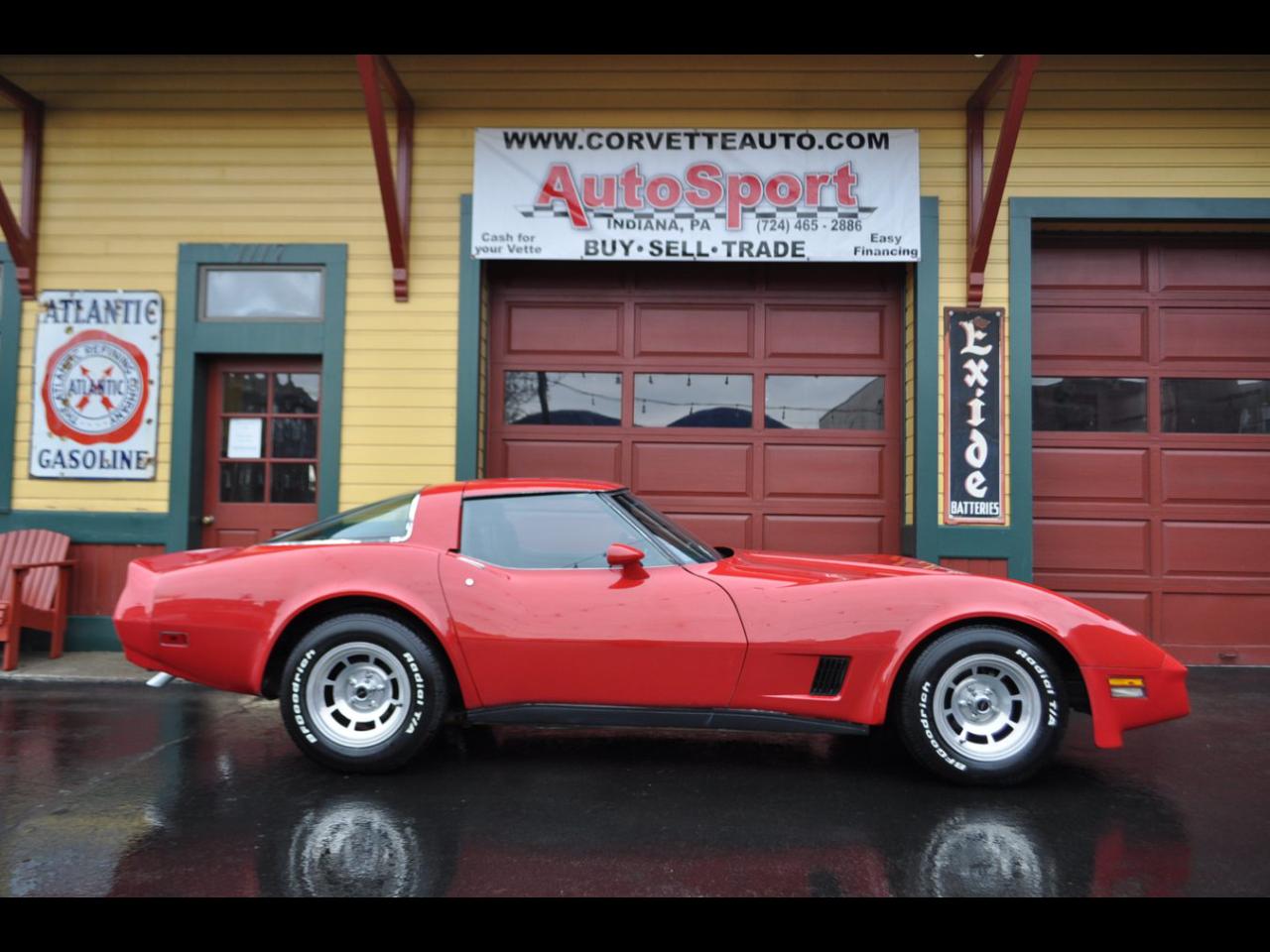 Chevrolet Corvette 1981 $15250.00 incacar.com