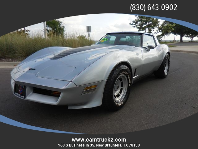 used Chevrolet Corvette 1981 vin: 1G1AY876XBS424940