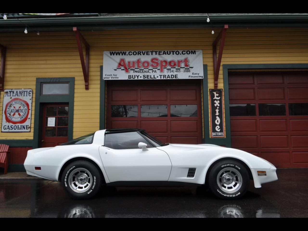 Chevrolet Corvette 1981 $30850.00 incacar.com