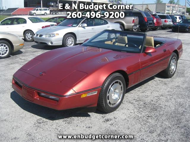 Chevrolet Corvette 1986 $11900.00 incacar.com