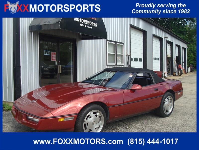 Chevrolet Corvette 1988 $5995.00 incacar.com