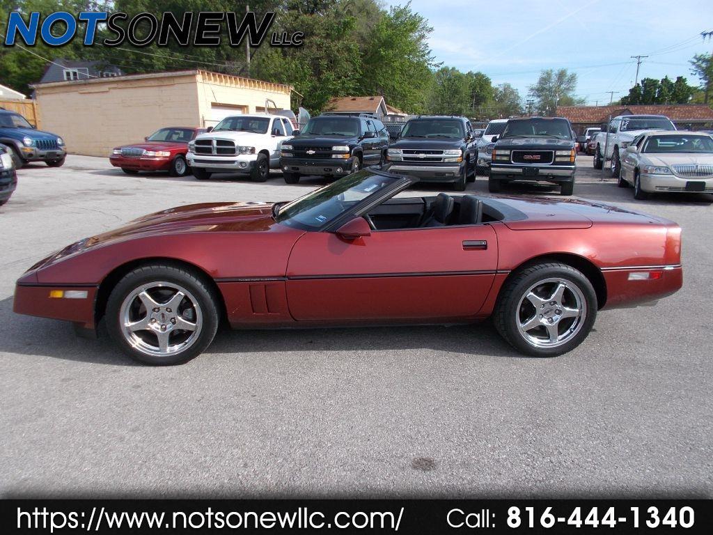 Chevrolet Corvette 1988 $6998.00 incacar.com