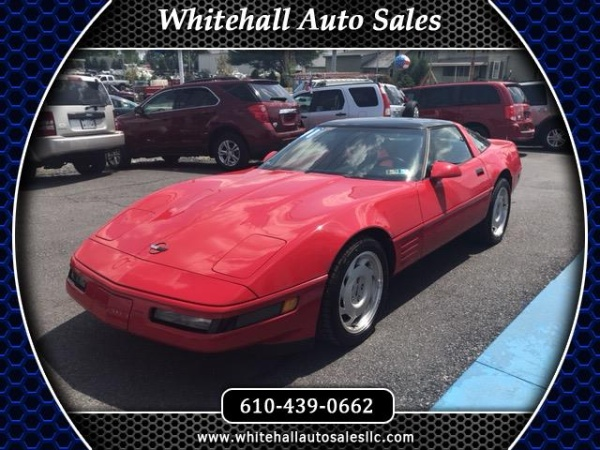 Chevrolet Corvette 1991 $10995.00 incacar.com