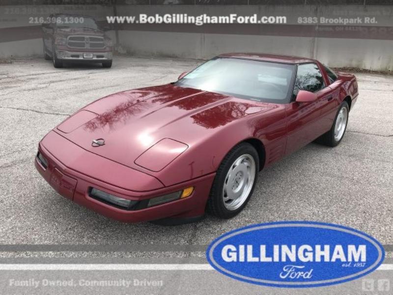 Chevrolet Corvette 1991 $14575.00 incacar.com