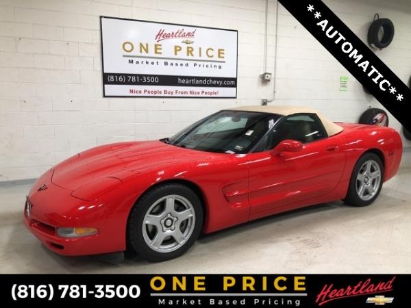 Chevrolet Corvette 1999 $18750.00 incacar.com