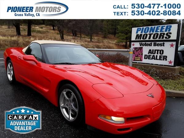 Chevrolet Corvette 2000 $14500.00 incacar.com