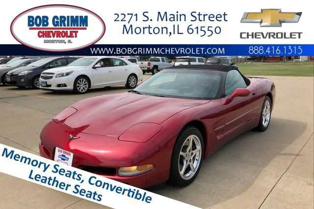 Chevrolet Corvette 2001 $16996.00 incacar.com