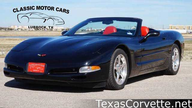 Chevrolet Corvette 2001 $25980.00 incacar.com