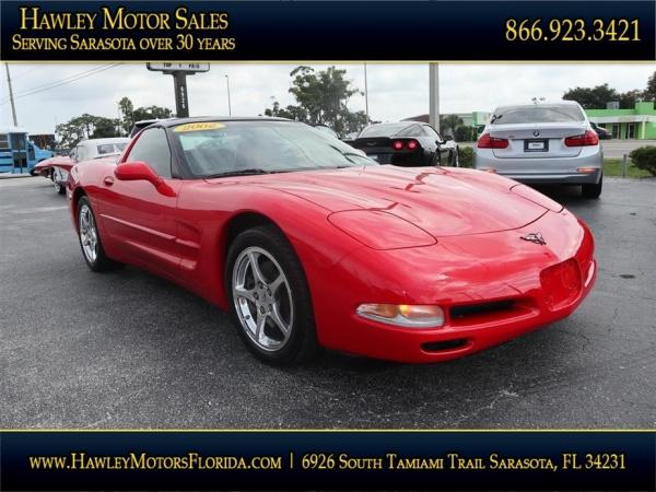 Chevrolet Corvette 2002 $19988.00 incacar.com