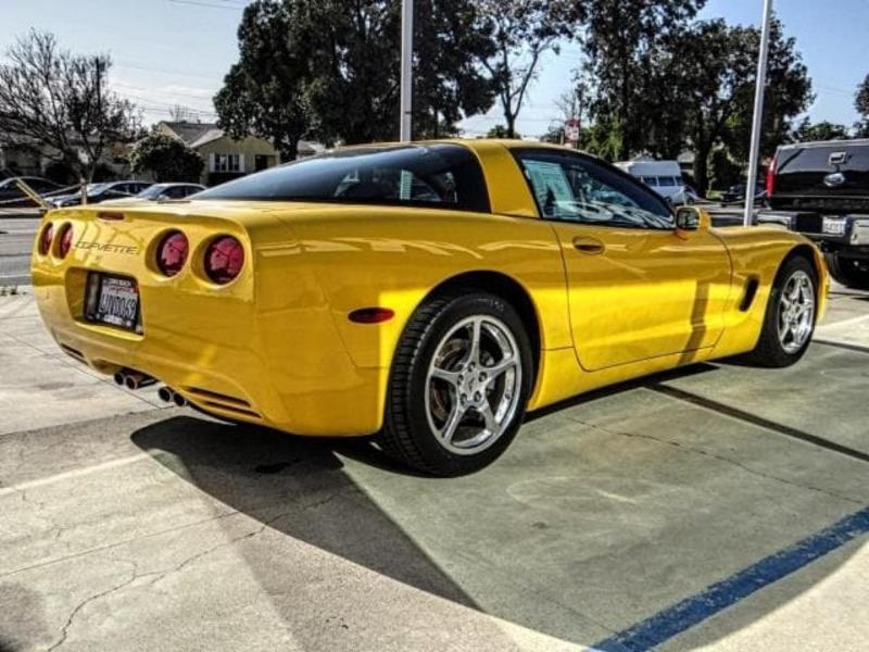 Chevrolet Corvette 2002 $15950.00 incacar.com