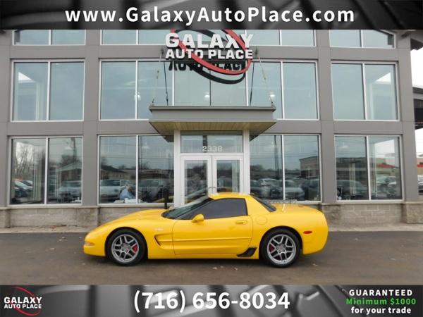 Chevrolet Corvette 2002 $22995.00 incacar.com