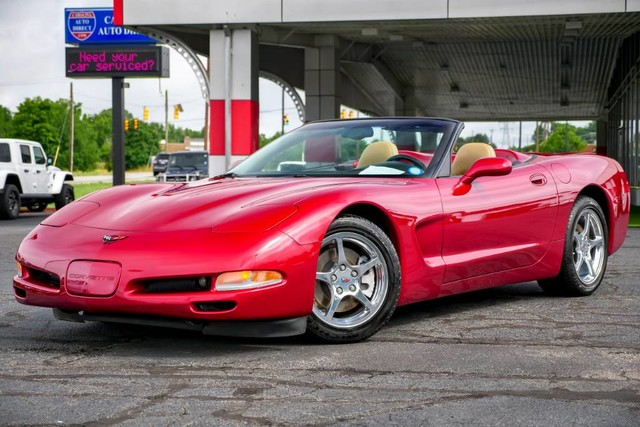 Chevrolet Corvette 2002 $20705.00 incacar.com