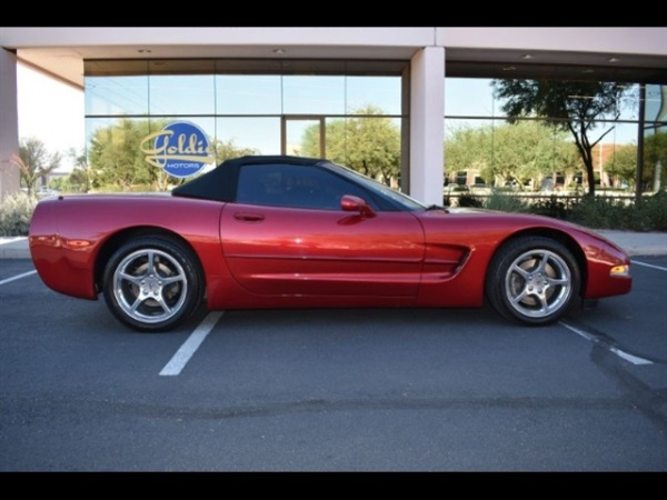 Chevrolet Corvette 2002 $15800.00 incacar.com
