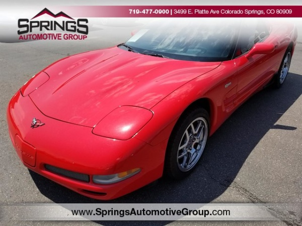 Chevrolet Corvette 2002 $22999.00 incacar.com