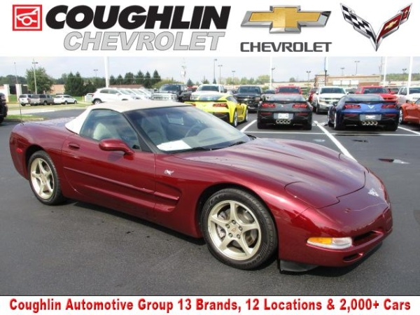 Chevrolet Corvette 2003 $27469.00 incacar.com