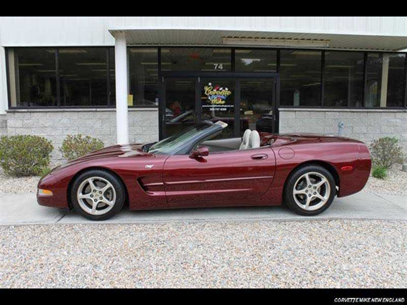 Chevrolet Corvette 2003 $24900.00 incacar.com