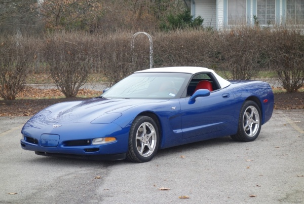 used Chevrolet Corvette 2003 vin: 1G1YY32GX35114353