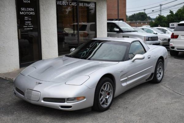 used Chevrolet Corvette 2003 vin: 1G1YY12SX35108741