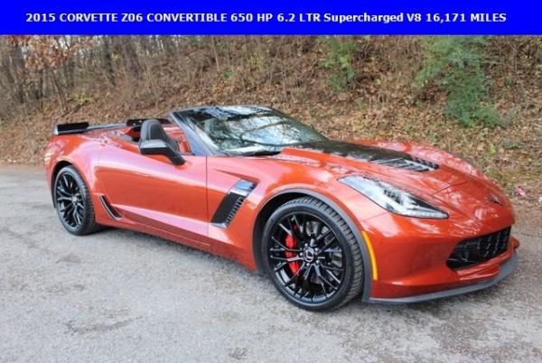 Chevrolet Corvette 2015 $64590.00 incacar.com