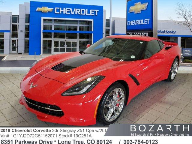 Chevrolet Corvette 2016 $52999.00 incacar.com