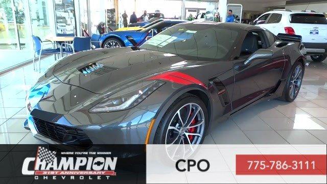 Chevrolet Corvette 2017 $100945.00 incacar.com